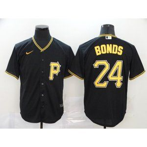 Pittsburgh Pirates Barry Bonds Black Game Jersey